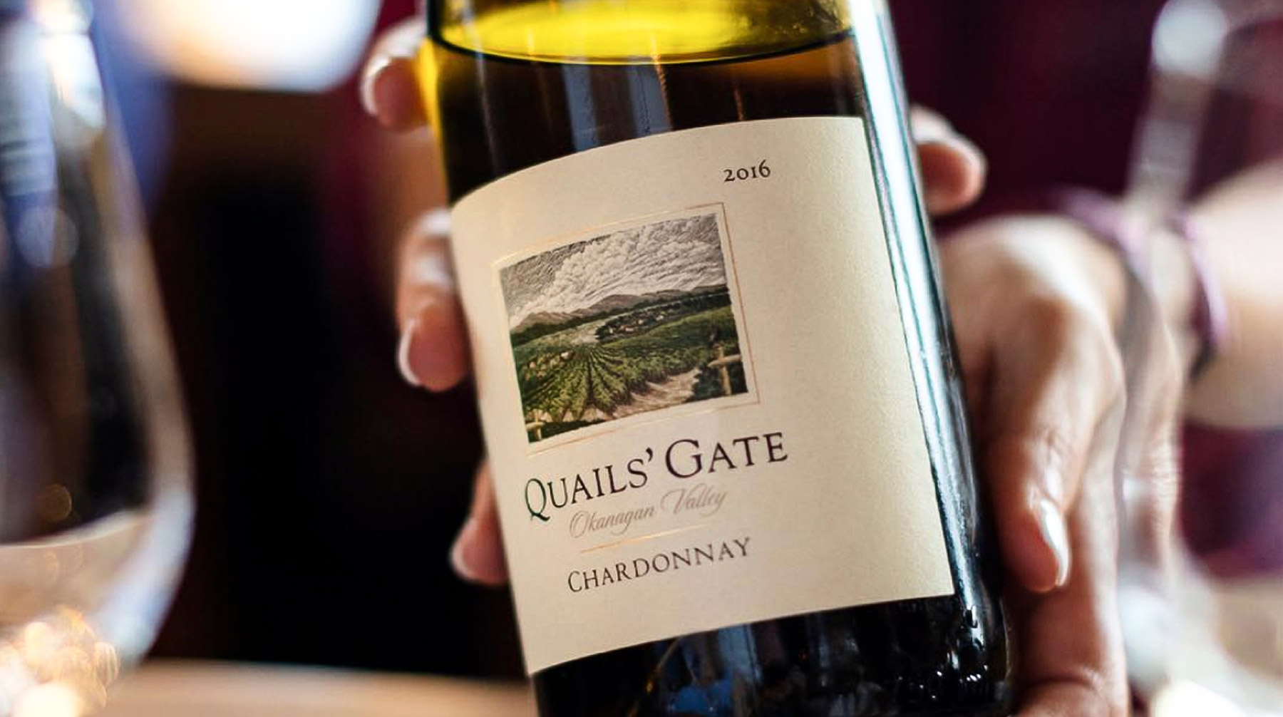 Quails' Gate Chardonnay.